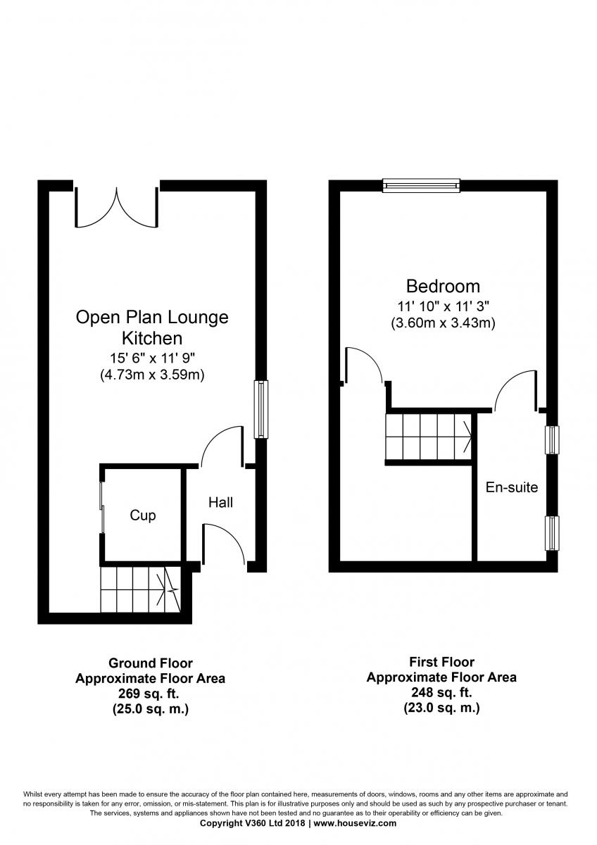 Floorplan 25B Warkworth Street
